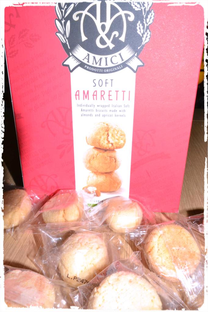 Soft Amaretti biscuits