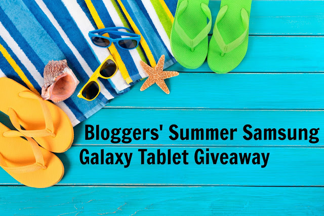Bloggers' Summer Samsung Galaxy Tablet Giveaway